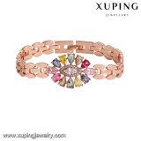 74827 Fashion Latest Jewelry Women Luxury Big Eye Tear Zircon Bracelet