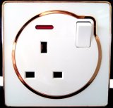British Standard 13A Socket with Switch for Lighting Control