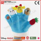 Hot Sale Soft Plush Stuffed Hand Finger Puppet