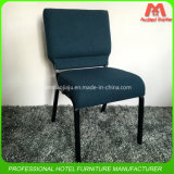 American Hot Sale Metal Type Church Chair Wholesale in Blue Colour
