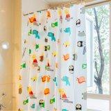 High Quality Printed Anti-Mildew Waterproof PEVA Bathroom Shower Curtain (16S0045)