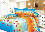 Poly/Cotton Bedding Set Used for Hotel Collections Bed Linen