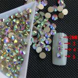 Austrian Crystal 10-16 Facets Sparkle Crystal Ab Machine Cut Crystal Stone for Latin Dress (FB-ss16 crystal ab)