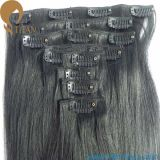 7pieces, 16clips Indian Remy Human Hair Clip in Hair Weft