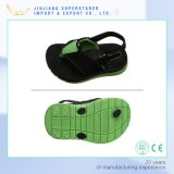 EVA Kids Sandals, Two Tone Color Sandal Shoes with Spring Strap