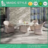 Rattan Chair Garden Furniture P. E Wicker Dining Set Chair Dining Table Wicker Dining Table Round Table Outdoor Dining Chair