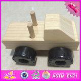 2016 Wholesale Baby Wooden Toy Tank, Fashion Kids Wooden Toy Tank, Most Popular Children Wooden Toy Tank W03A082