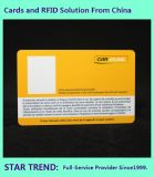 Handicap Card with Magnetic Stripe Made Plastic
