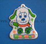 Custom Cartoon Soft PVC Plastic Key Chain with Full Colorful Cmyk Printing