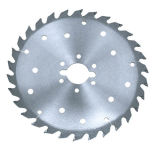 High Bending Resistance T. C. T Ripping Saw Blade for Bamboo