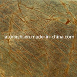 Rainforest Green Marble Slabs Tiles, India Green Marble
