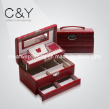 Leather Jewelry Storage Case / Cosmetic Case