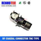 90 Degree Female Gender TNC Connector for PCB Mount