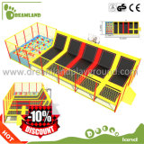2017 Hot Sale Fitness Equipment Outdoor Big Cheap Trampoline with Enclosure for Kids