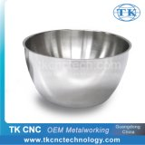 Stainless Steel Double Wall Salad Bowl with Handles for Hotel / Home Use by Stamping, Pressing, Laser Welding-1