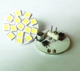Back Pin 15SMD5050 DC10-30V AC8-18V 4000k G4 LED