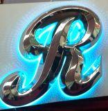 Halo Light 3D Stainless Steel Letter