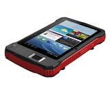 Rugged Android Biometric Fingerprint Tablet with WiFi Bluetooth Qr Code Reader USB 2D Barcode Scanner Long Range UHF RFID Reader