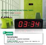 [Ganxin] Mini Red Color Desktop Clock for Home Decor