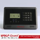 Other Language Voice Instruction! New GSM Alarm System with LCD Display and Touch Keypad