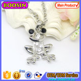 Fashion Jewelry Alloy Frog Pendant Necklace with Alloy Chain