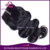 Remy Virgin Hair Top Lace Closure in 4 X 4 Size Brazilian Hair Body Wave