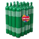 HP Seamless Steel Oxygen Cylinder Tanks 6m3 with Cylinder Caps