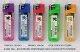 (Item No. BD-581) Electronic Disposable Gas Lighter, Baida Lighter