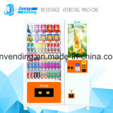 Attractive Screen Vending Machine with Note Reader and Coin Changer