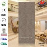 Jhk-F01 Clean Flush Quality Natural Padouk Mold Door Skin