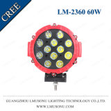 "4X4 Auto 6.3"" LED Flood Work Light off Road Combo 60W Heavy Duty Driving Light Offroad Truck SUV"