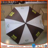 Fashionable Colorful Logo Printed Adverstisment Golf Umbrella