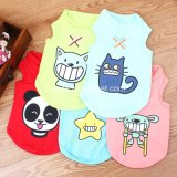2017 Pet Dog Product Supply Cartoon Dog Tshirt Puppy Clothes