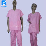 Disposable Nonwoven Doctor Surgical Gown for Surgery