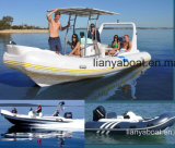 Liya 14-22FT Rigid Hull Inflatable Rubber Motor Boat for Sale