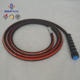 """High Quality 5000 Psi 3/8"""" High Pressure Washer Hose 50 Feet/100 Feet with Fittings"""