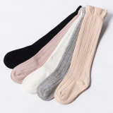 Cute Baby Toddler Girl Solid Socks Knee High Hosiery in Tube Socks