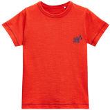 Bamboo Kids Tshirt with Small Printing Logo (A158)