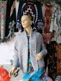 Handmade Wholesale Knit Poncho Women Pure Cardigan