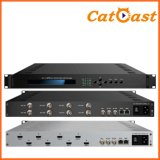 8 Channels HD/Sdi MPEG-4 Avc/H. 264 Encoder with Asi IP Output