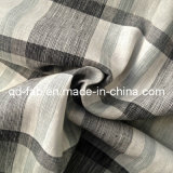 100%Linen Yarn Dyed Fabric (QF13-0758)