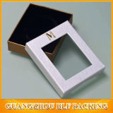Elegant Cardboard Gift Box with Window for Jewelry