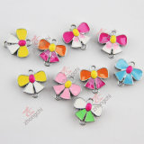 Colorful Bow Slider Charm Making Jewelry Findings (JP08)