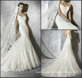 Sexy Mermaid Wedding Dresses Lace Tulle Bridal Gown W52204