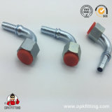 45° Metric Female Flat Seat Hydraulic Pipe Fitting (20241, 20241T)