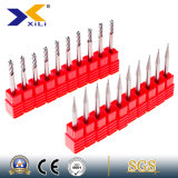 45 or 55 Degree Carbide End Milling Tools for Aluminum