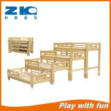 Wooden Kids Bed for Kindergarten
