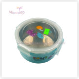 PP Stainless Steel Lunch Box with Lock for Kids (450ml)