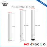 Custom Logo Touch E 280mAh Micro USB Quick Charge 510 E Cig Battery Vapor Pen Kit