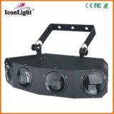 25W RGBWA LED 4 Head Effect Light for Disco Light